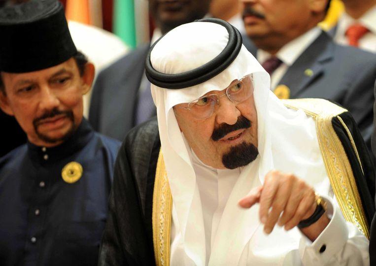 De Saoedische regering, onder leiding van koning Abdullah bin Abdul Aziz, trok zich niets aan van protesten van belangrijke bondgenoten zoals de VS. Beeld anp