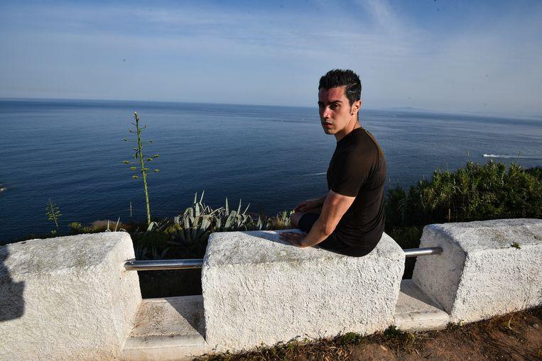 Ismael Mohamed studeert in Sevilla en zoekt werk in Madrid  Beeld  Antonio Sempere