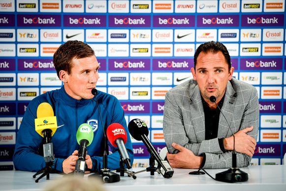 Hannes Wolf en Dimitri De Condé.