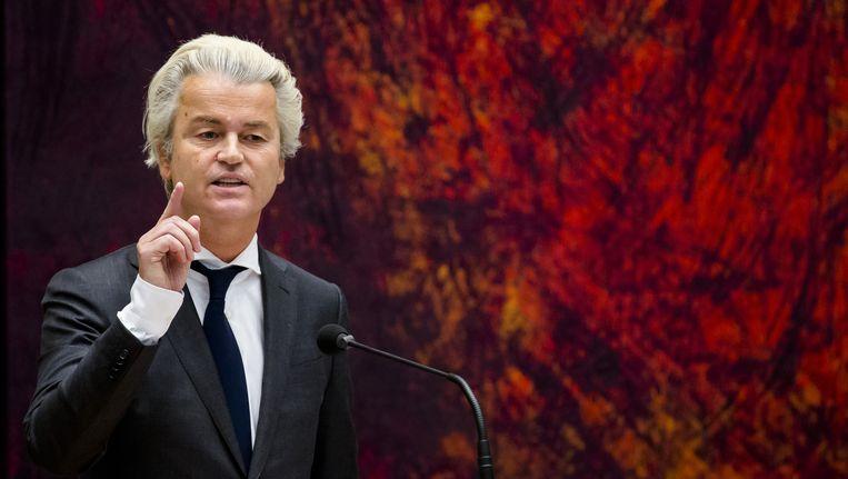 Wilders maakt gebruik van de snelle sociale media gebruik om zijn politiek van de onmiddellijkheid uit te dragen. Beeld anp