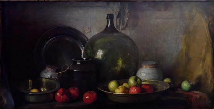 Een stilleven van Piet Mondriaan, afkomstig uit een particuliere, Nederlandse collectie.