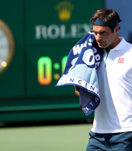 Russisch talent Roeblev overklast Federer in derde ronde Cincinnati
