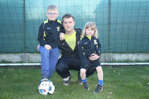 Zowel zoon Milo als dochter Alexis van keeper Jitram Eraly van Lozenhoek Keerbergen voetballen bij de club. Op 3 april hoopt Alexis nieuwe ploegmaatjes te leren kennen.