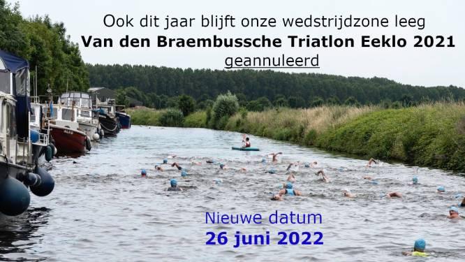 Van den Braembussche Triatlon opnieuw afgelast