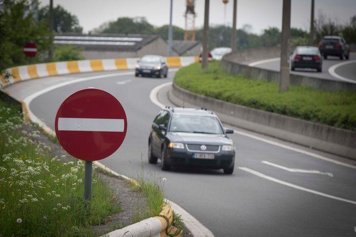 Archiefbeeld ter illustratie. De Nederlandse politie onderzoekt waarom de bestuurster uit Hasselt tegen het verkeer in reed.