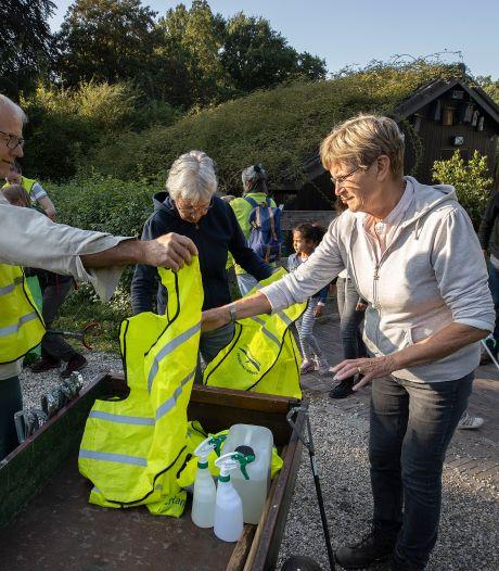Wandelen met prikker en grijper voor een schone leefomgeving: World Clean Up Day bij 't Wasven