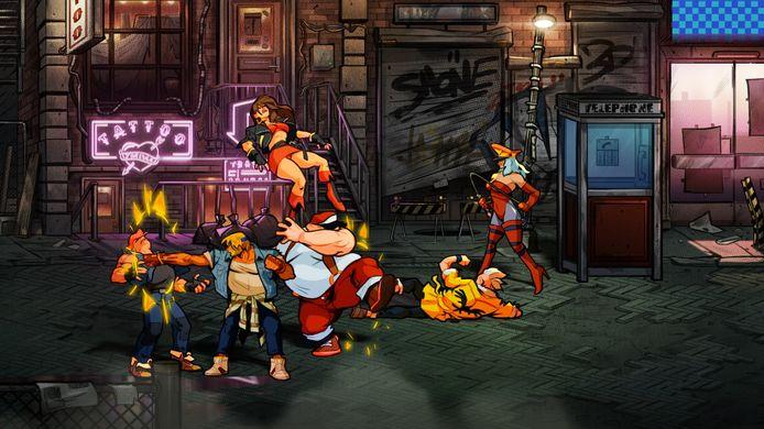 Een heel scherm vol met sujets om af te lappen: dat is het blijvende en winnende concept van een 2D-brawler.