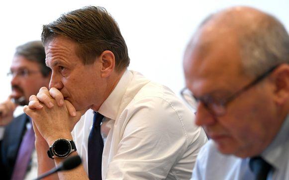 Paul Van Tigchelt van het OCAD moest gisteren uitleg geven in de Kamer, samen met onder anderen procureur Frédéric Van Leeuw.