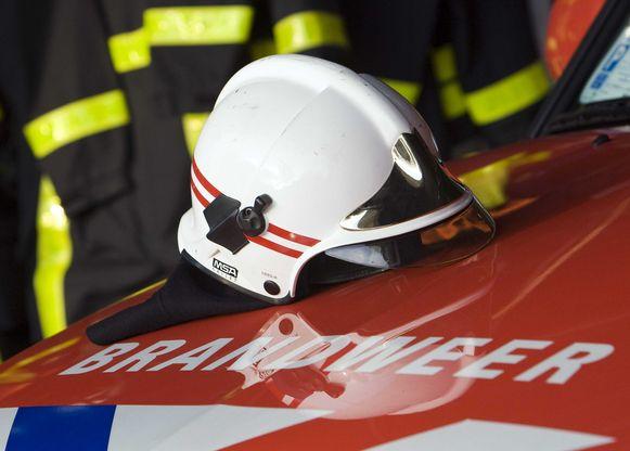 De brandweer houdt een infosessie.