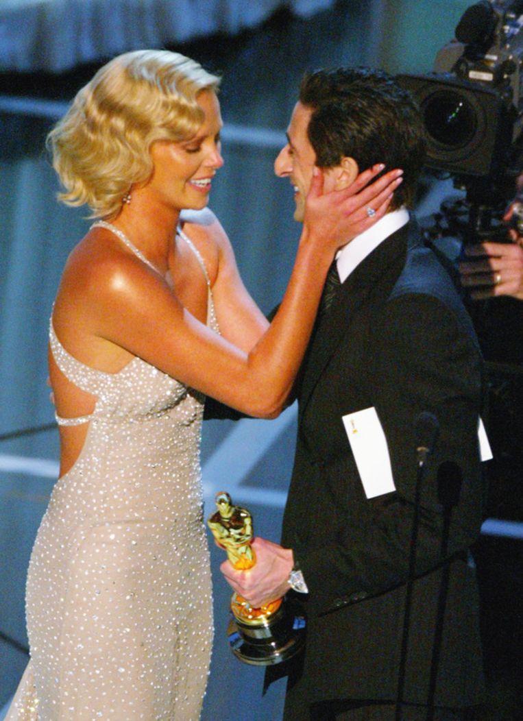 Adrien Brody werd een superster na de Oscars voor The pianist. Beeld UNKNOWN