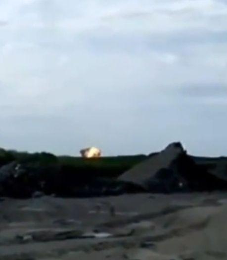 Moment van explosie MH17 vastgelegd op camera
