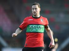 NEC-captain Rens van Eijden mist twee competitieduels én kwartfinale KNVB-beker