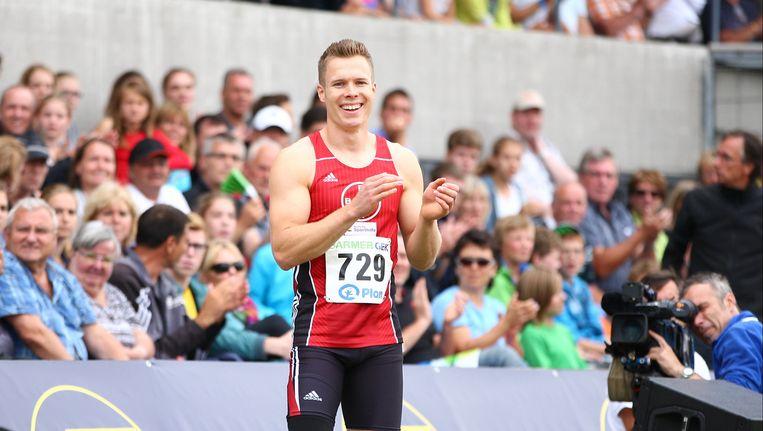 Markus Rehm won afgelopen weekend de nationale titel verspringen. Beeld GETTY