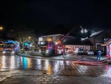 Woonstudio in het centrum van Eerbeek volledig uitgebrand