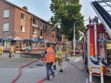 Grote brand in Deventer, politie pakt verdachte op