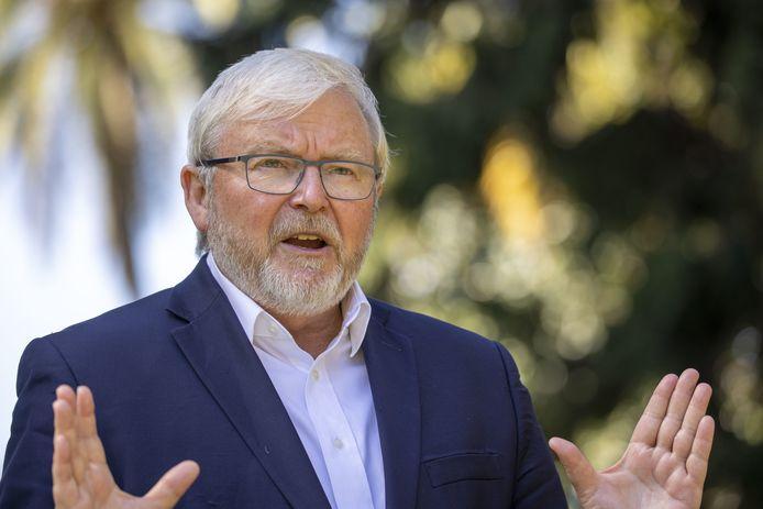 Ex-premier Kevin Rudd.