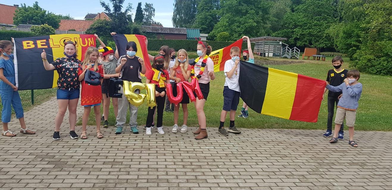 Het vijfde leerjaar van de Zandloper in Zomergem is er ook klaar voor.