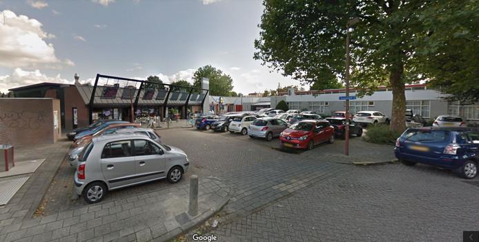 Winkelcentrum Kauwenhof in Nieuwegein, waar ook de Lidl zit.