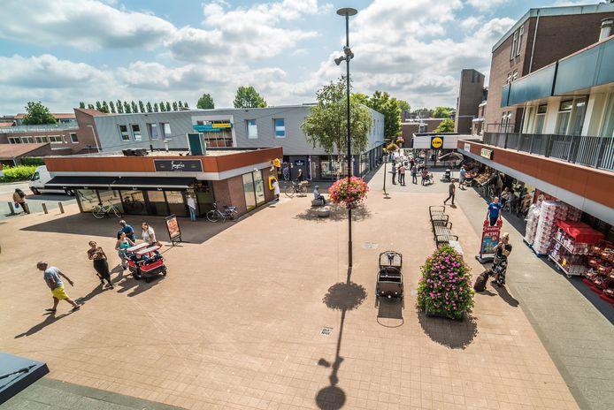 Winkelcentrum Buytenwegh in Zoetermeer.