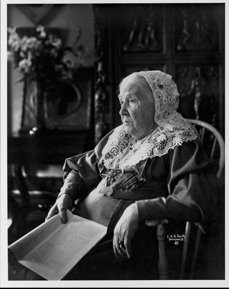 Julia Ward Howe, 1899.  Beeld Getty Images