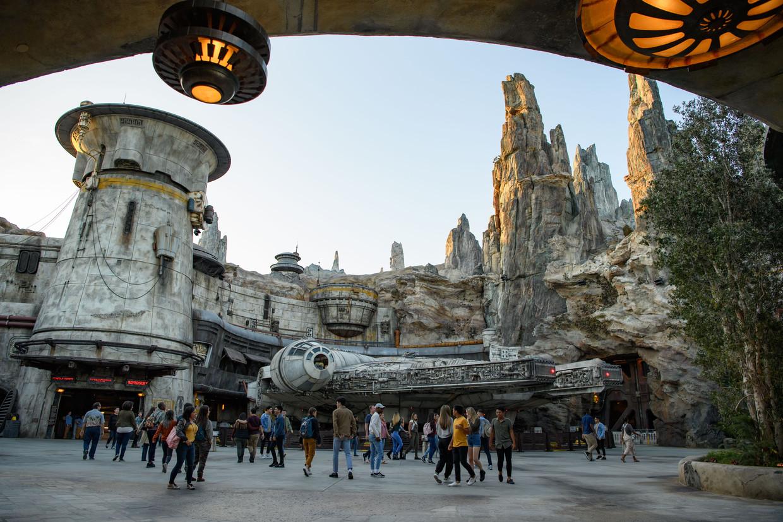 Star Wars: Galaxy's Edge. Beeld Joshua Sudock/Disney Parks