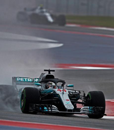 Hamilton ook in tweede training snelste, Verstappen klokt derde tijd