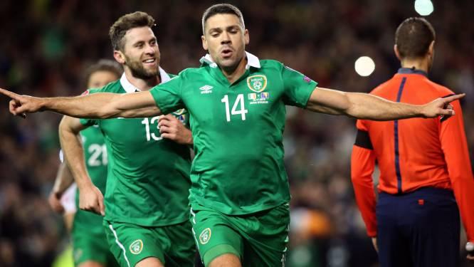 Ierland nekt Bosnië en mag voor derde keer naar het EK