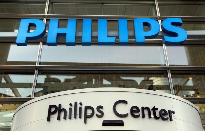 Het hoofdkandtoor van Philips in Amsterdam.