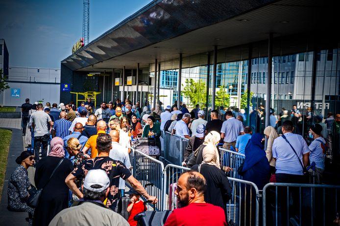 Op Rotterdam The Hague Airport vertrokken vorige week de eerste vluchten naar Marokko.