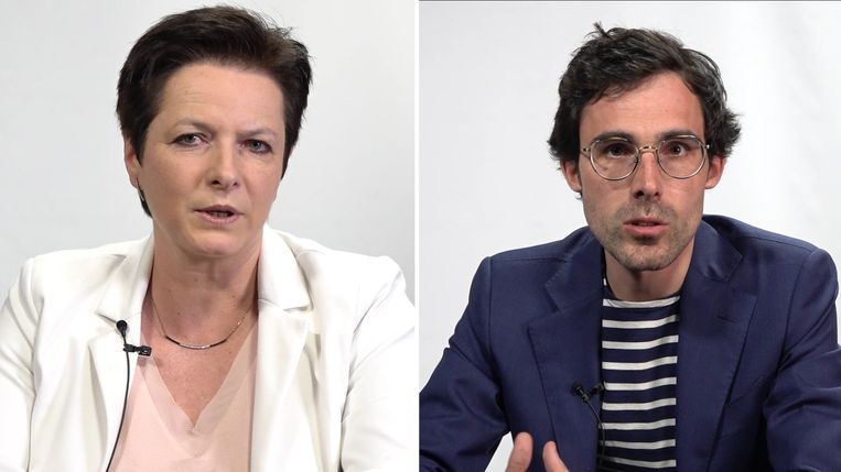 Kristof Calvo en Annick Ponthier