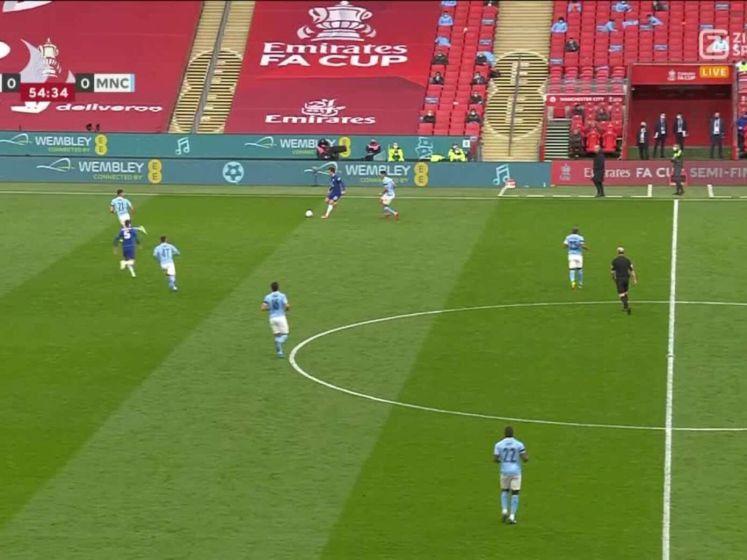 Hakim Ziyech zet Chelsea op voorsprong tegen City
