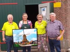 Wens van Markeloër gaat in vervulling: een schilderij van 'zijn' molen