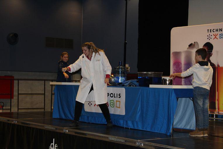 Technopolis on Tour hield halt in De Panne