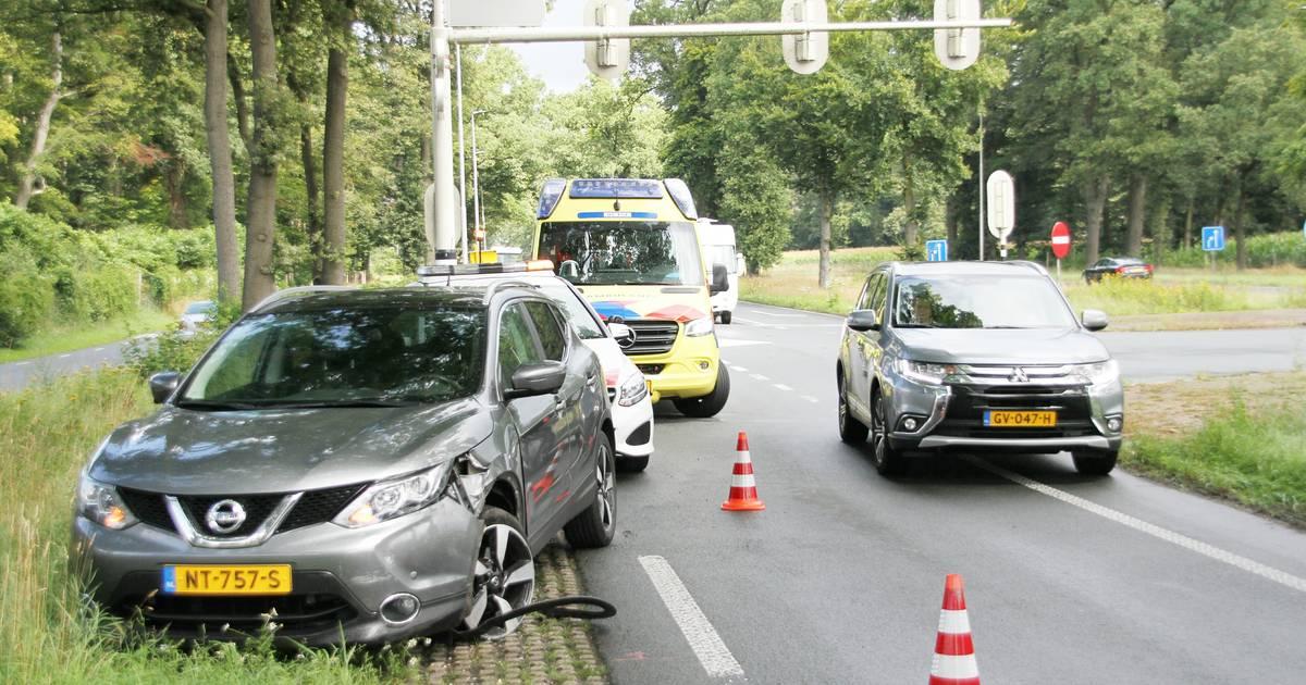 Gewonde bij ongeval kruising N350/N347 bij Rijssen.