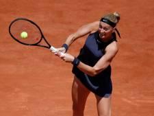 Onfortuinlijke Kvitova verlaat Roland Garros na val op persconferentie