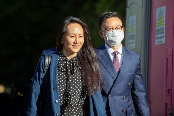 Meng Wanzhou verbleef noodgedwongen in Canada.