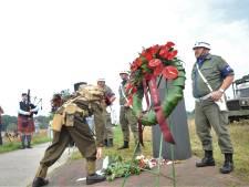 Renkumers herdenken dat 77 jaar geleden op de heide bij dat dorp de verwoestende Slag om Arnhem begon