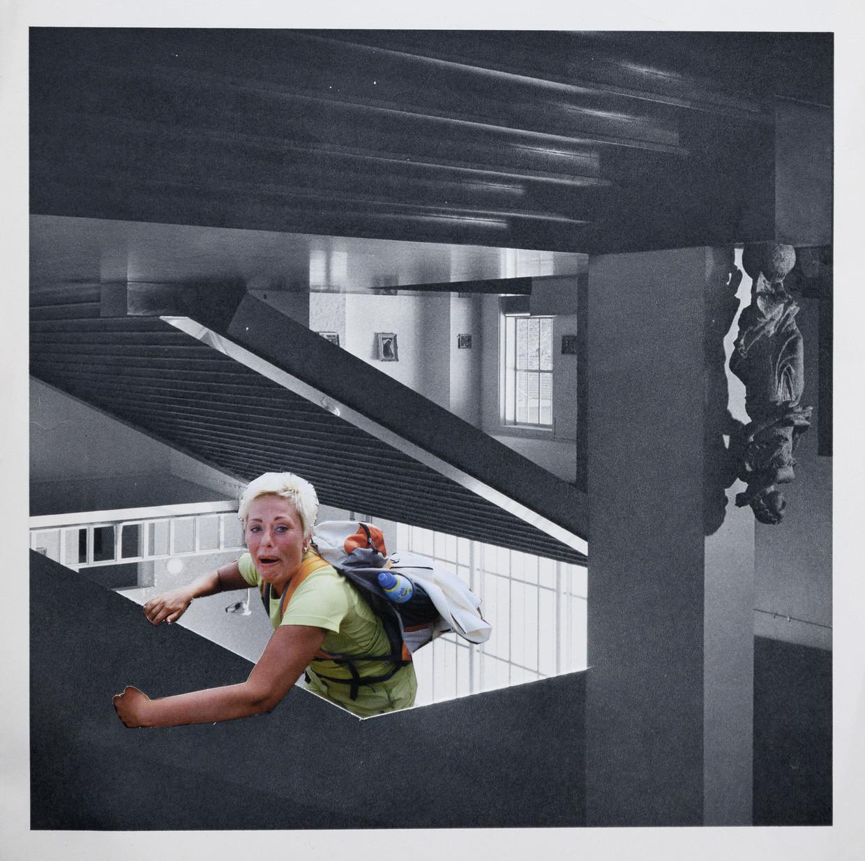 De collages bij dit verhaal zijn van fotograaf Bram Petraeus, die ze maakte als oefening in compositie. Basis waren afbeeldingen uit tweedehands boeken die hij op markten en in de ramsj verzamelde. Petraeus, 'een beetje een dagdromer', ging intuïtief te werk. 'Ze tonen een surrealistische onderbewuste wereld, zoals je die kent uit je dromen.'