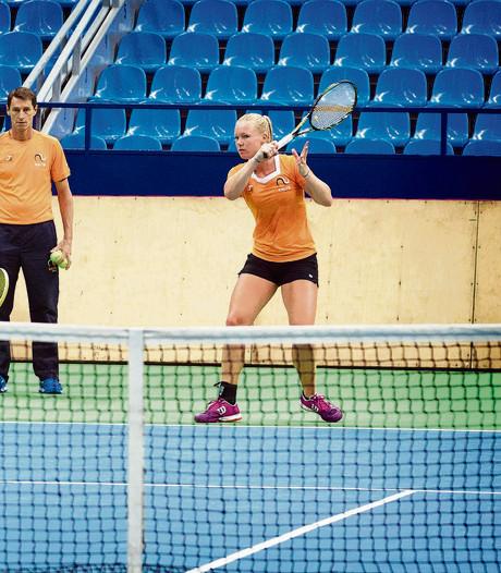 Tennissters tegen Verenigde Staten in Fed Cup