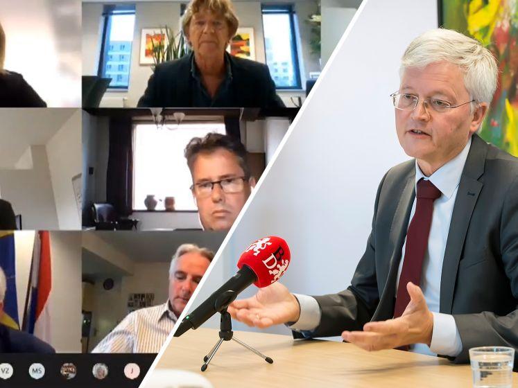 Burgemeester Weterings: 'Vertrouwen in mijn aanpak van de coronacrisis heeft een deuk opgelopen'