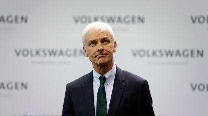 Volkswagen gaat topman vervangen in nasleep van dieselschandaal