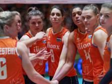Derde nederlaag op rij voor Nederlandse volleybalsters in Nations League