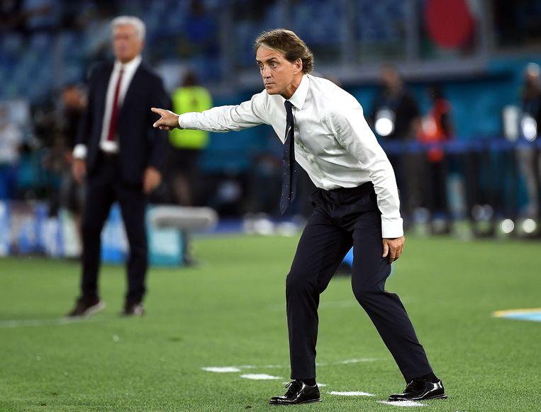 Roberto Mancini is geïnspireerd door progressief denkende coaches. Beeld EPA