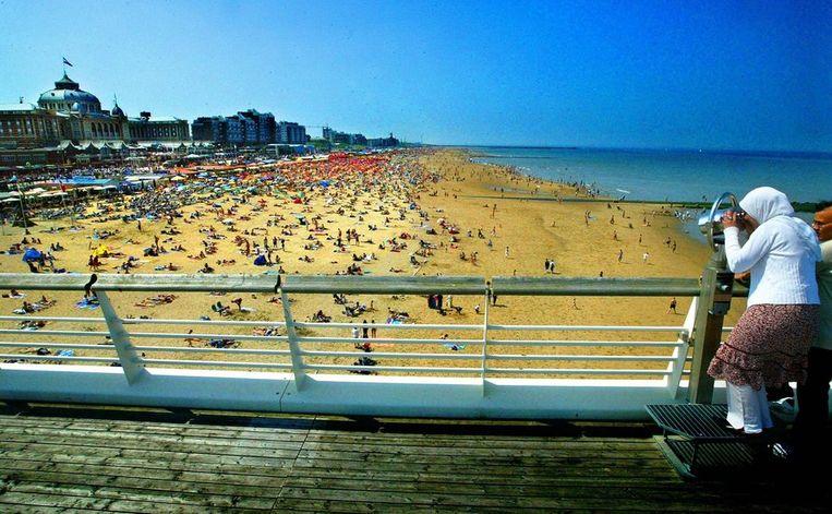 Het uitzicht vanaf de Pier, mei 2003. Beeld anp