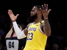 LeBron James met seizoensrecord op dreef bij LA Lakers