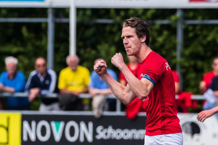 Hielke Penterman scoorde de derde treffer in Zeeland