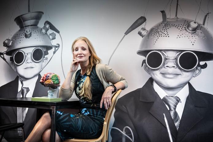 Tilburgse neuropsycholoog Margriet Sitskoorn     foto Koen Verheijden.