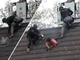 Politie slaat dakraam in en arresteert man in Hengelo