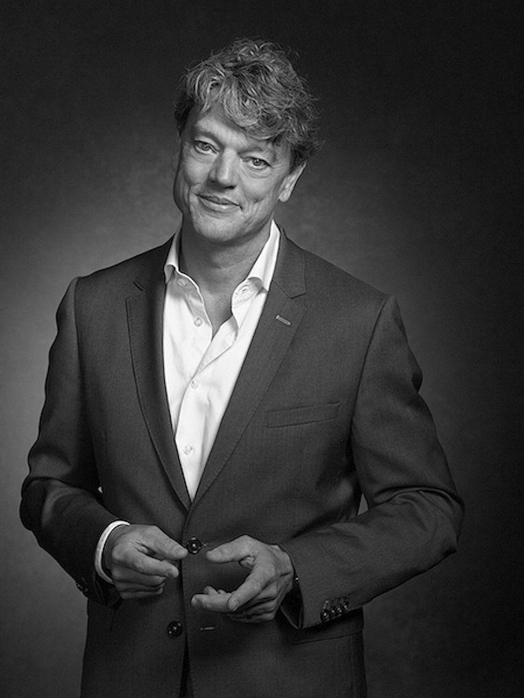 Leonard Witkamp Dermatoloog en bijzonder hoogleraar e-health aan Amsterdam UMC. Tevens directeur van Ksyos, een instelling voor medisch specialistische zorg. Beeld -