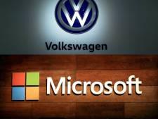 Volkswagen et Microsoft s'unissent pour développer la conduite autonome et connectée